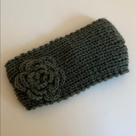 Crochet Headband Stretchy Kylie Headband Hairband Black Set of 2 UK SELLER